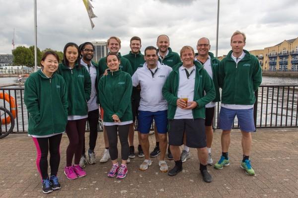 Borealis Maritime Team in Dragon Boat Race